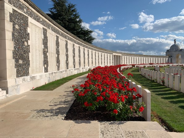 Ypres Tyne Cot cemetery