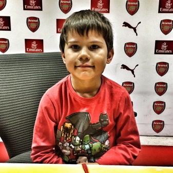 Toby press conference Emirates Stadium