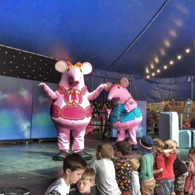 Camp Bestival Clangers