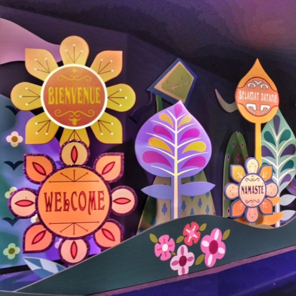 Disneyland Paris It's A Small World welcome