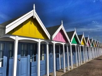Weymouth beach huts