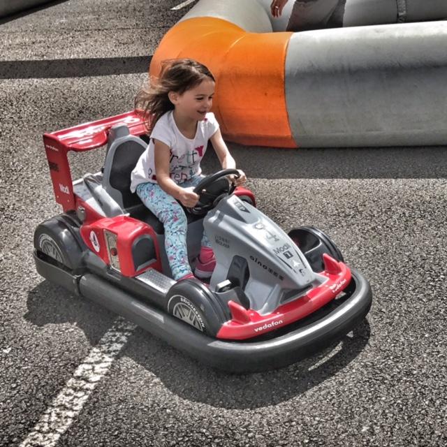 Silverstone Kara go-karting