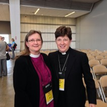 Bishop Kucharek, with Presiding Bishop Elizabeth Eaton