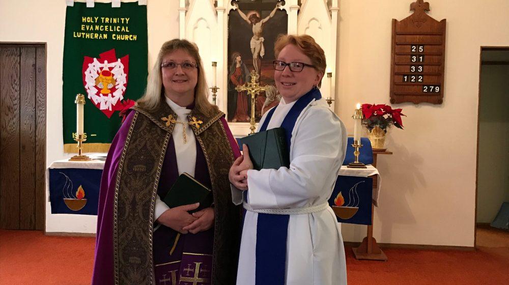 Alverda Welcomes New Pastor