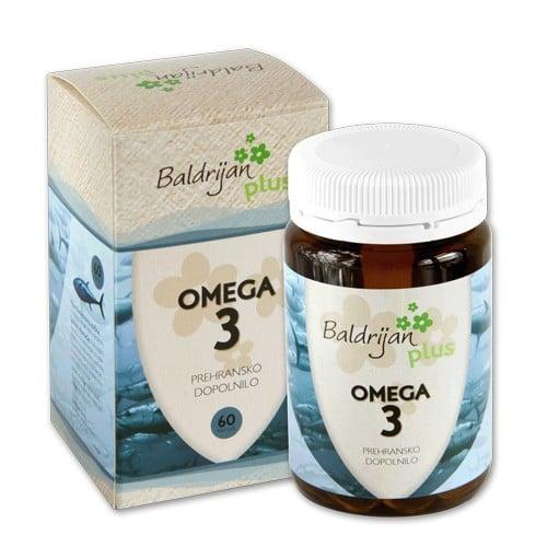 Prehransko dopolnilo OMEGA 3 – za zdravo prehranjevanje