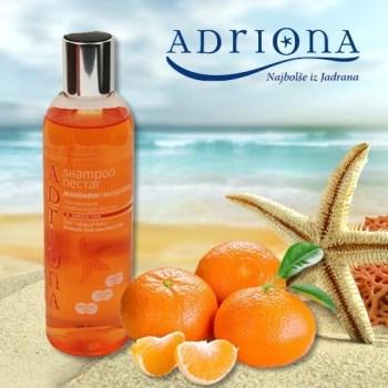 Šampon za barvane lase - mandarina