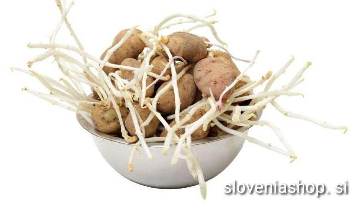 Trik: Takole zaustavite kalitev krompirja