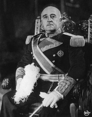 """""""Генералиссимус Франсиско Франко"""". Источник: http://www.taringa.net/"""