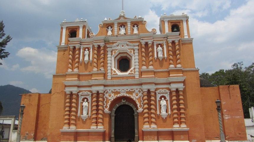 Церковь в г. Хокотенанго, Гватемала. Фотография любезно предоставлена А. В. Смыченко (http://mister-smik.livejournal.com/)