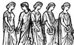 Образ шествия в архаике и античности
