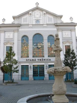 Stara trznica in Bratislava, Slovakia (photo by: T. Malnar)