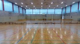Sports hall in Ljubljana, Slovenia photo by: R. Tomko