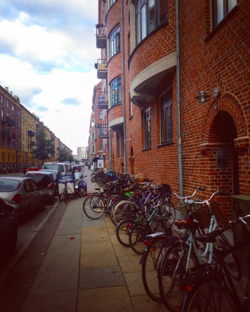 Street Copenhagen Rue Copenhague Vélos Bikes