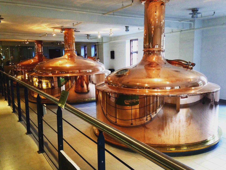 Exbeerience Carlsberg cuves vats beer bière