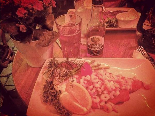 shooting stars etoile filante danish meal repas danois