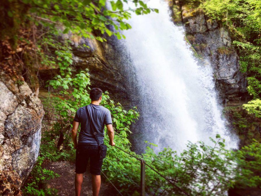 Waterfall Cascade Giessbach Slow Tourisme