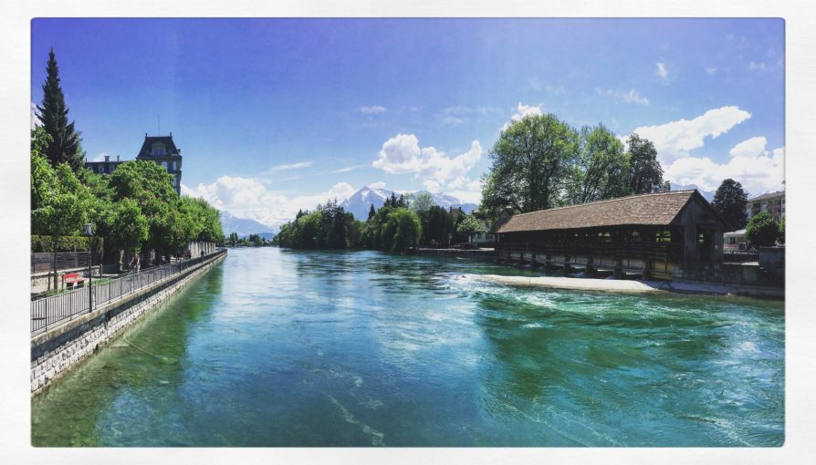 Thun Thoune Suisse Switzerland