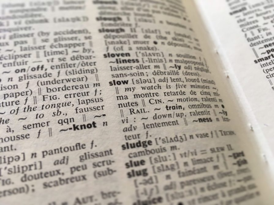 dictionnaire Slow dictionary