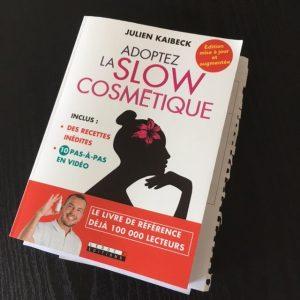 Livre book Adoptez la Slow Cosmétique