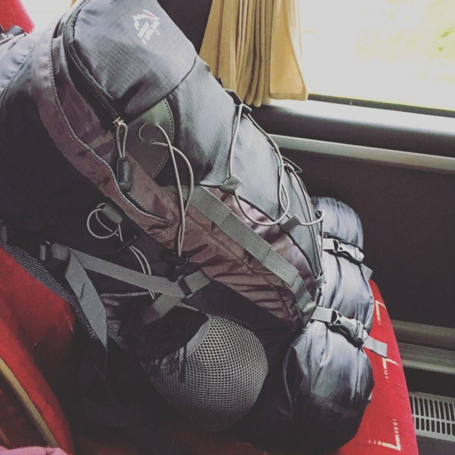 Sac Back Pack Road Trip UK Slow World