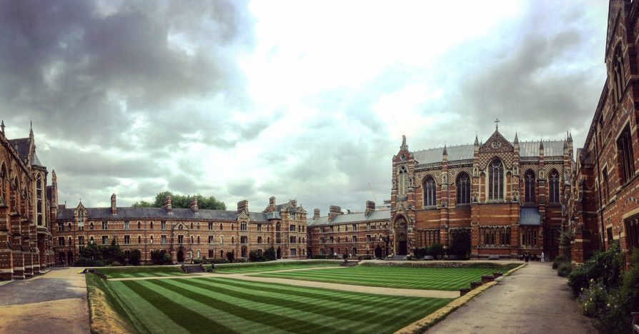 Oxford Keble College Slow World