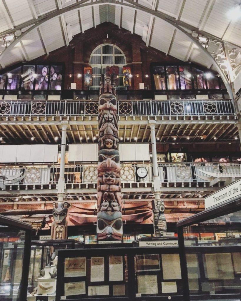 Oxford Pitt Rivers Museum Slow World