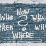 questions mur pourquoi comment