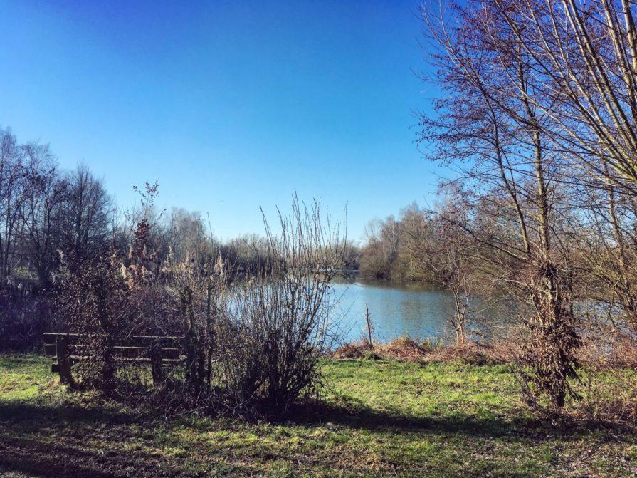 Slow Tourisme à Valenciennes Hergnies Lac Banc