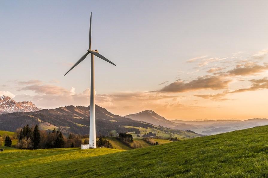 éolienne écologie entreprise montagne