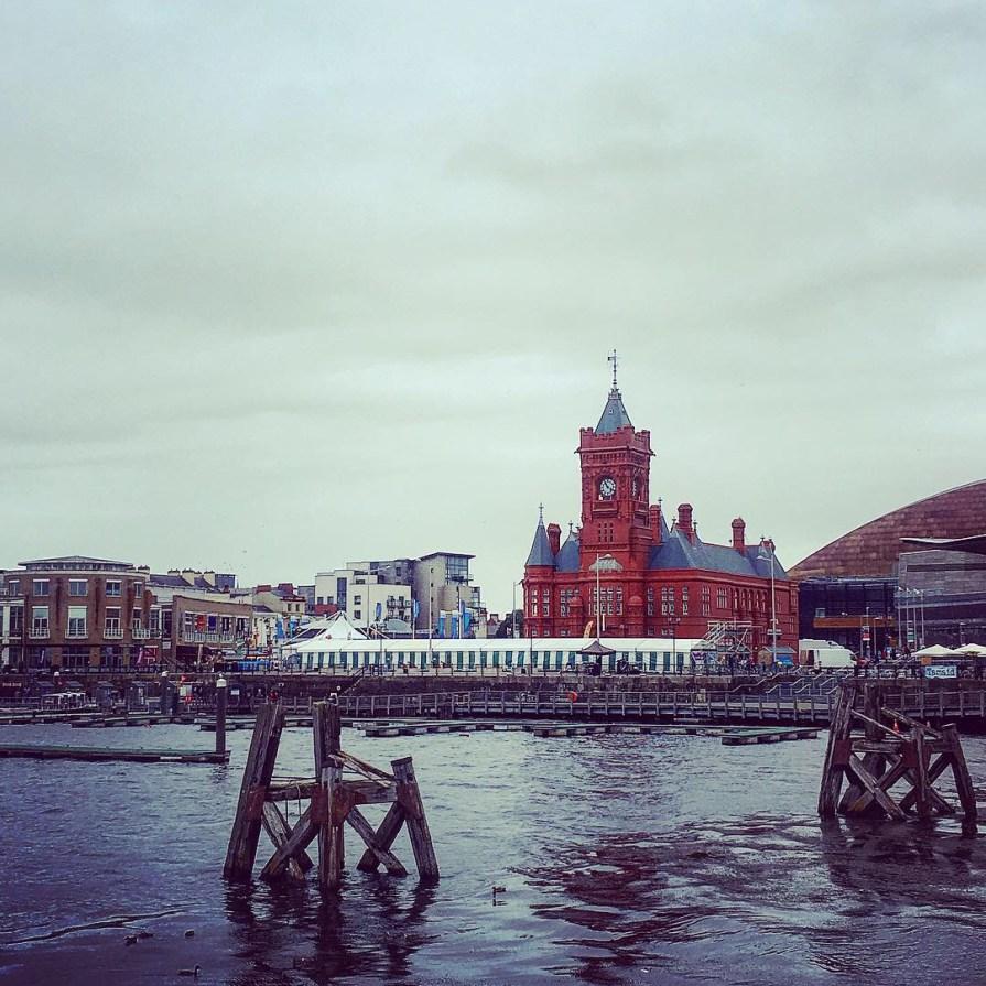 Cardiff Bay Pierhead Building Mer Pays de Galles