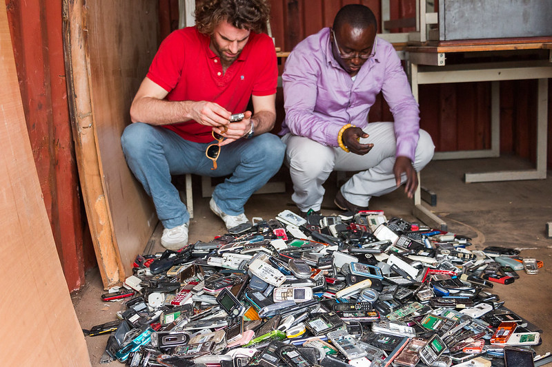 Fairphone3 collecte téléphones portables