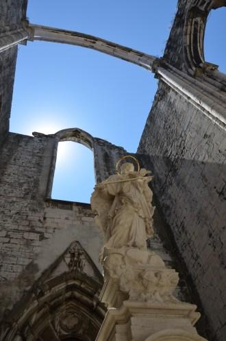 Convento do Carmo, Lisboa. Carmo Convent, Lisbon. Photo: ©Slowaholic