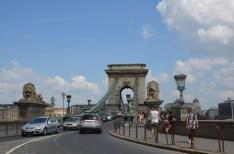 The Chain Bridge. Budapest. Hungary. Tuk Tuk ride. July 2014 Photo: ©Slowaholic