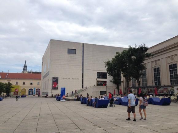 Leopold Museum. MQ, Vienna, Austria. Foto: ©Slowaholic