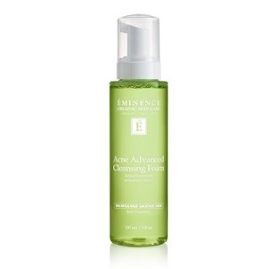 Eminence Organic Skin Care Acne Advanced Cleansing Foam at Slow Beauty Eco Salon in Canberra