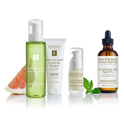 Eminence Organic Skin Care Acne Advanced Collection at Slow Beauty Eco Salon in Canberra