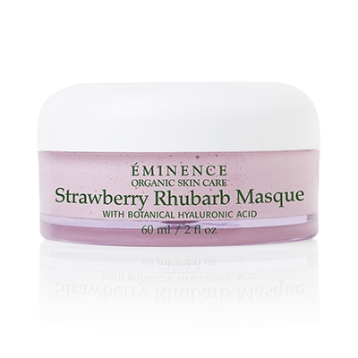 Eminence Organic Skin Care Strawberry Rhubarb Masque at Slow Beauty Eco Salon in Canberra
