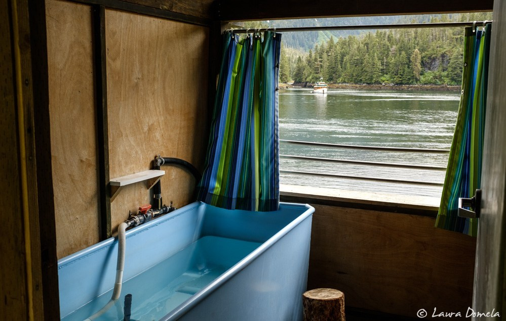 Private hot spring rooms