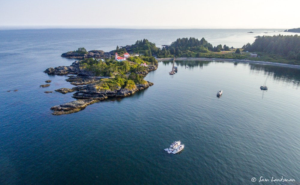 Friendly Cove/Yuquot aerial