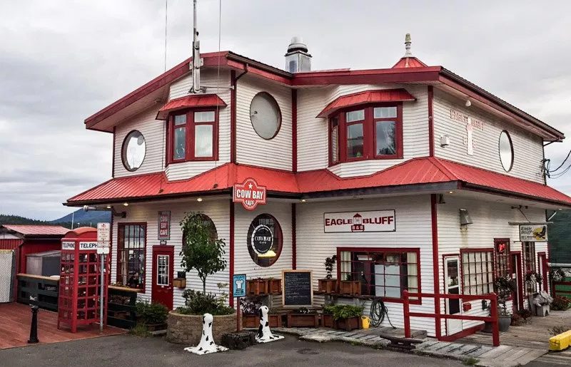 Cow Bay Cafe, Prince Rupert