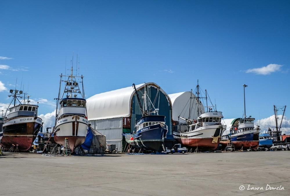 Wrangell boatyard