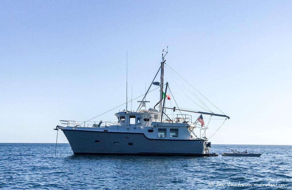 Cruising the Baja Coast on a Nordhavn 40 – Slowboat