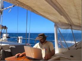 Editing at sea