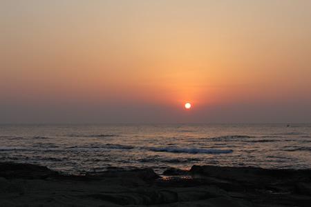 南房総 千倉海岸からの朝日