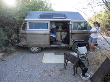 Camping near Lake Pleasant Arizona
