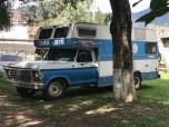 antigua blue camper