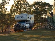 Arizona typical truck camp