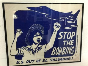 poster stop the bombing