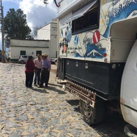 aguada touring the camper