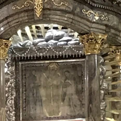 chiquinquira church painting